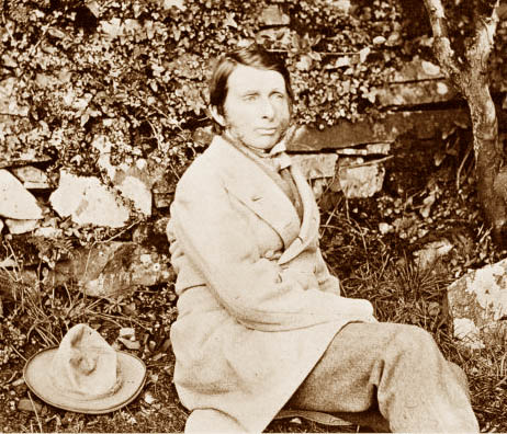 """John Ruskin in 1873 photographed by Frank Sutcliffe"""