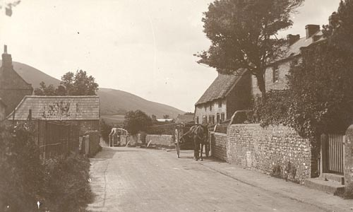 The Street, Fulking, c1910