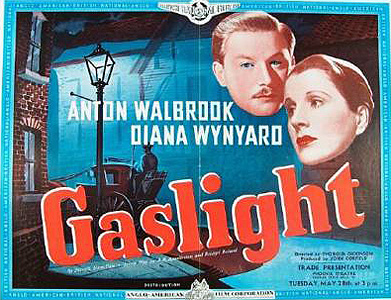 "Poster for the 1940 film ""Gaslight"""
