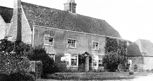 Fulking Farmhouse in the 1900s