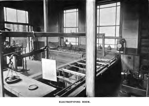 The Electrotyping Room