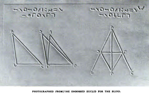 The Embossed Euclid