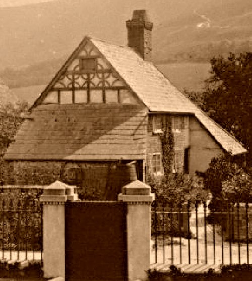 Customary Cottage as seen from The Croft