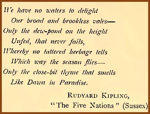 Rudyard Kipling 1902 Sussex
