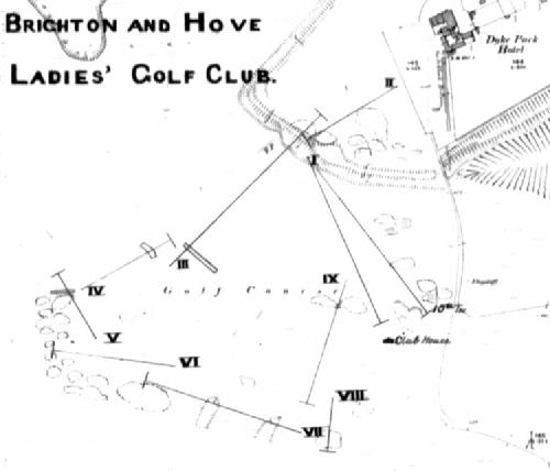 Ladies Golf Course 1905