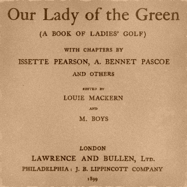 Our Lady of the Green 1899