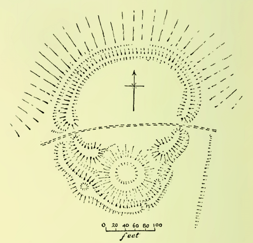 Plan of Castle Ring