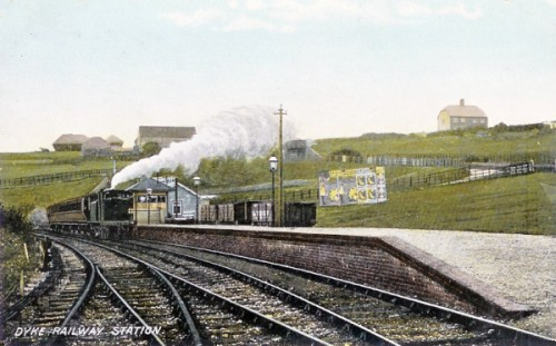 Dyke Railway Station around 1905
