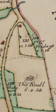 Edburton Tithe Map 1842
