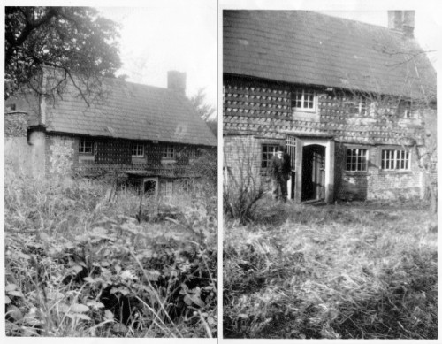 Two mid-C20 snaps of Knole House