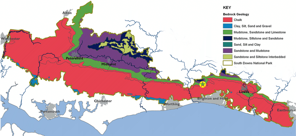 Geology of the South Downs