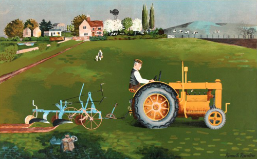 "Kenneth Rowntree's ""Tractor"", 1946"