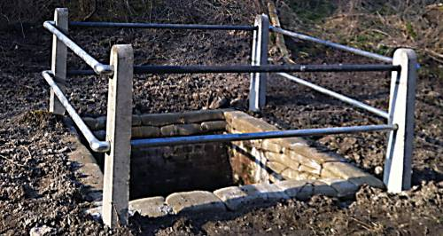 Lady Brook Spring following 'improvements'.