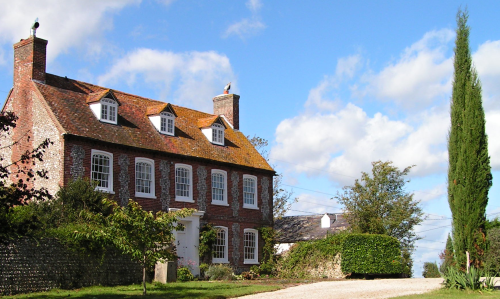 Perching Manor in 2007