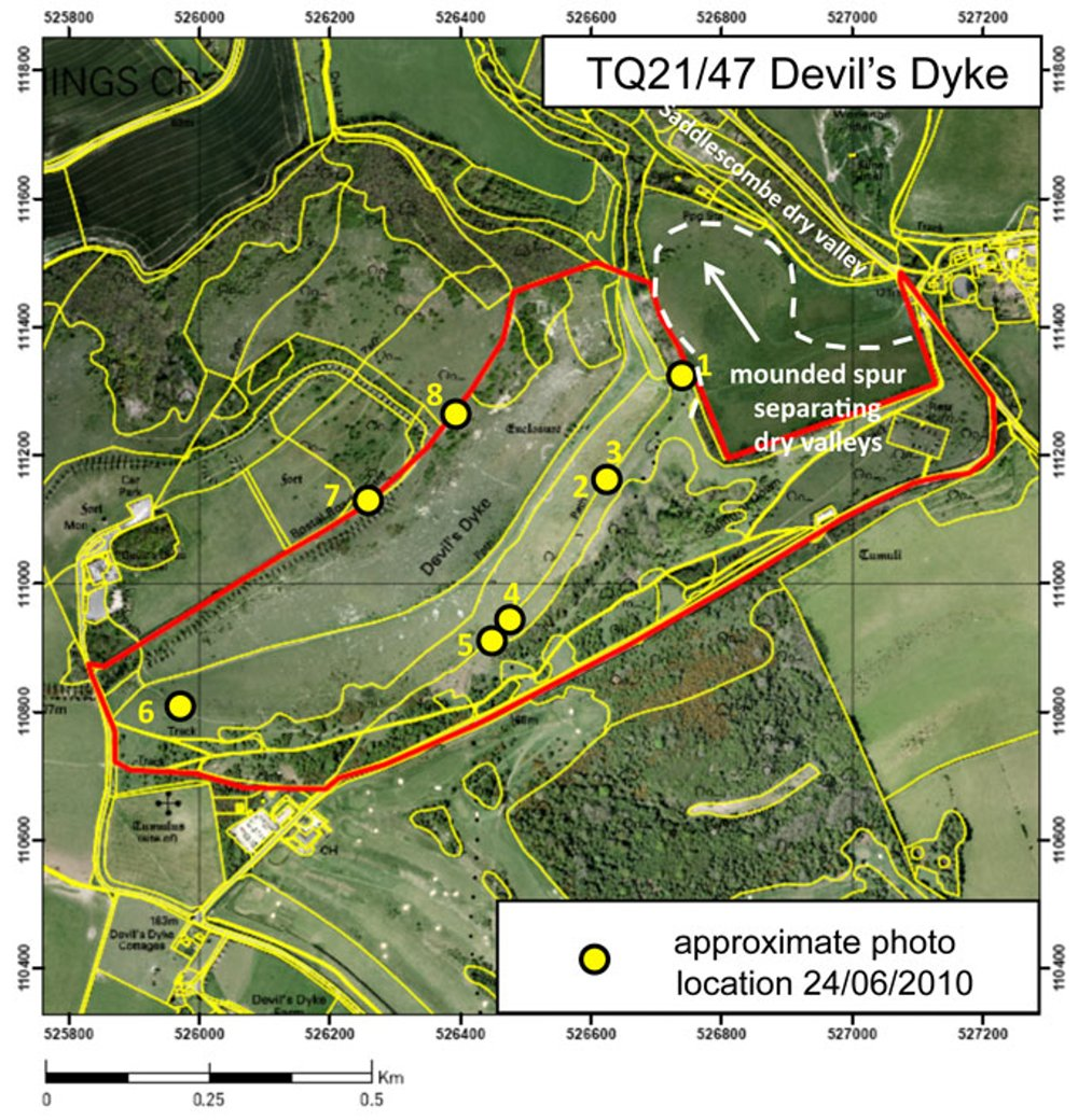 The Geology of Devil's Dyke TQ21/47