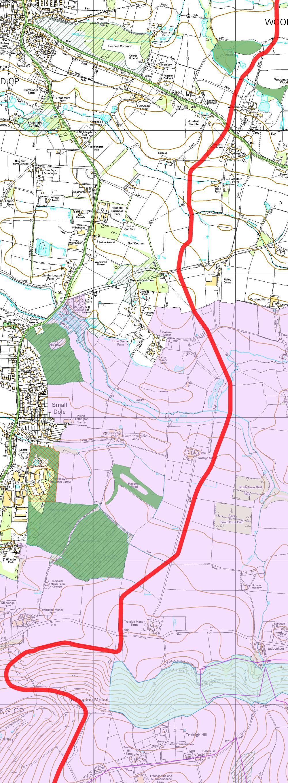Rampion Trench Map 6