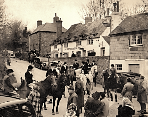 The Hunt Meet in 1946