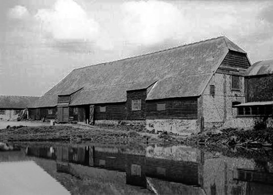 Perching Barn as it was in 1934