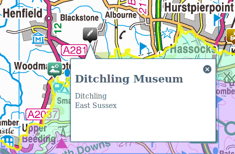 Ditchling Museum is in Blackstone