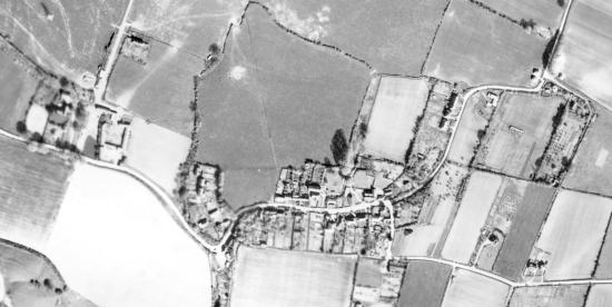 Fulking from the air, April 19th, 1946