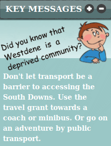 SDNPA Travel Grant Scheme
