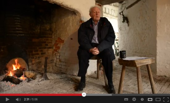 Memories of the Second World War at Saddlescombe farm - YouTube