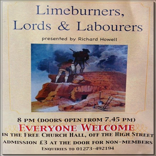 "Richard Howell 2013 ""Limeburners, Lords & Labourers"""