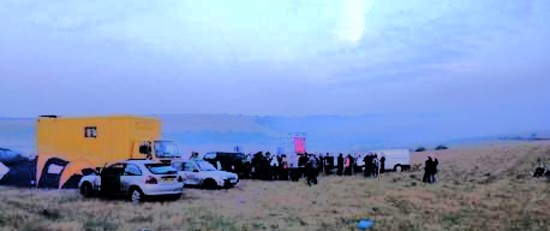 Hundreds join secret rave near Devil's Dyke