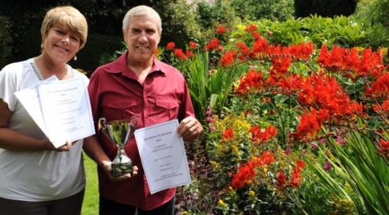 Beeding in Bloom winners Shoreham Herald August 2011
