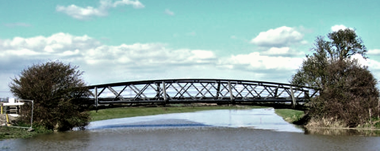 Footbridge over the Adur