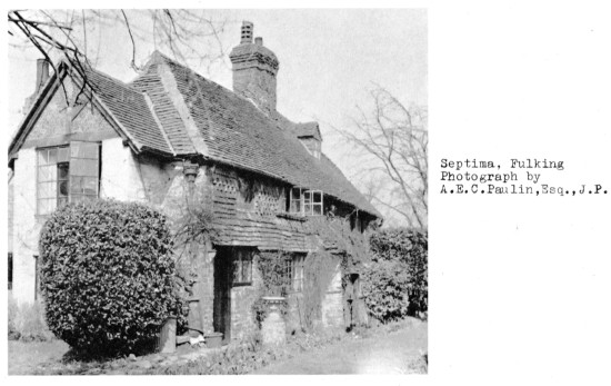 Photo of Septima by Albert Paulin from F.A. Howe's 1958 book on Fulking.