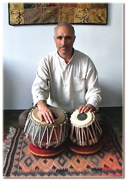 Steve Morley tabla workshop in Fulking