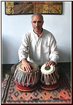 Steve Morley tabla workshop in Fulking