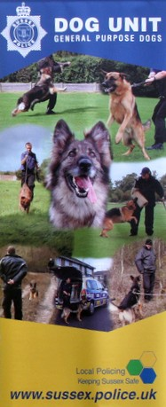 Sussex Police Dog Unit (general purpose dogs)