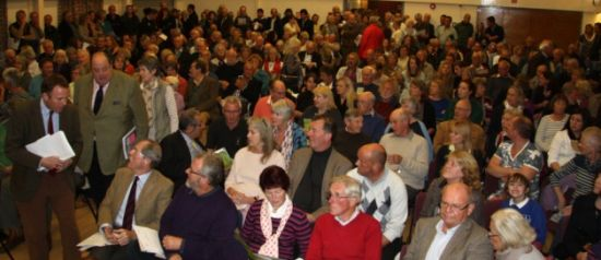 Adastra Hall meeting to protest Mayfield Market Town