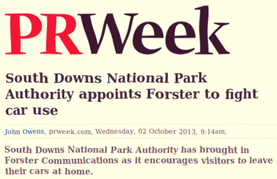 Another SDNPA bung for Forster Communications