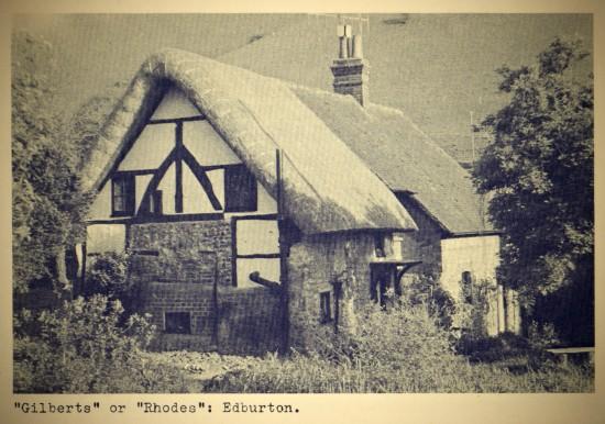 Gilberts or Rhodes, Edburton, F.A. Howe 1958