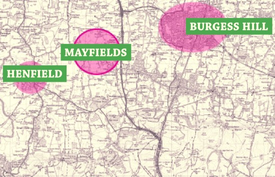Mayfields' plan to lay waste to the countryside north-east of Henfield