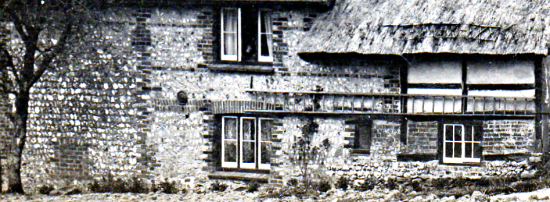 The eastern elevation of Rectory Cottage, c1900