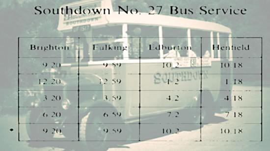 Southdown No 27 Bus Service
