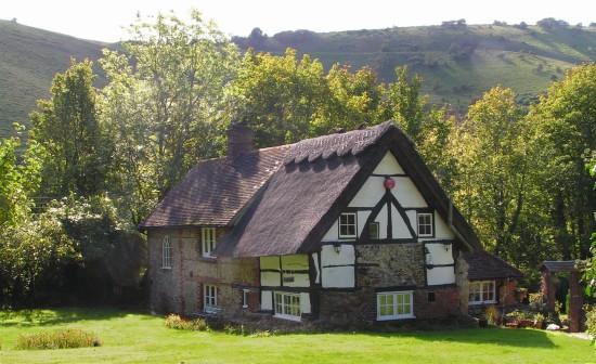Michaelmas Cottage, Edburton in 2007