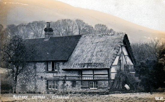 Rectory Cottage Edburton c1900