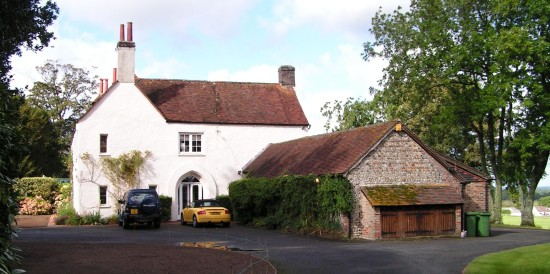 Edburton House viewed from the drive in 2007