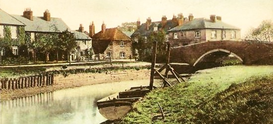 Beeding Bridge in the early 20th century
