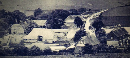The  history of Saddlescombe