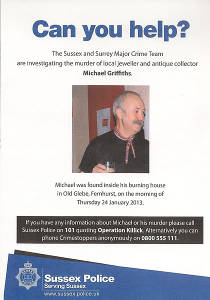 Michael Griffiths murder police poster