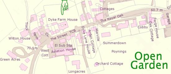 Dyke Farm House Poynings open garden 29th June 2014