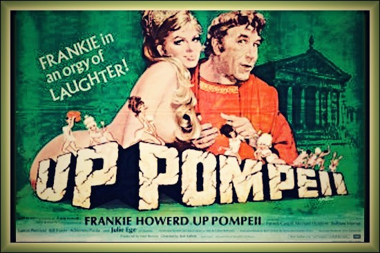Frankie Howerd Up Pompeii poster