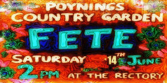 Poynings Garden Fete 2014