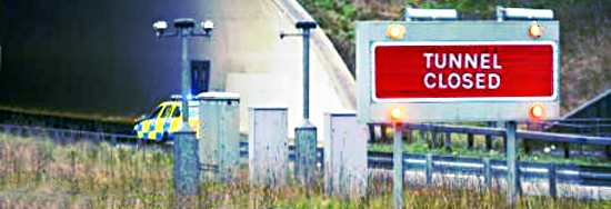 Southwick Tunnel closures